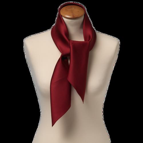 bordeaux rød tørklæde